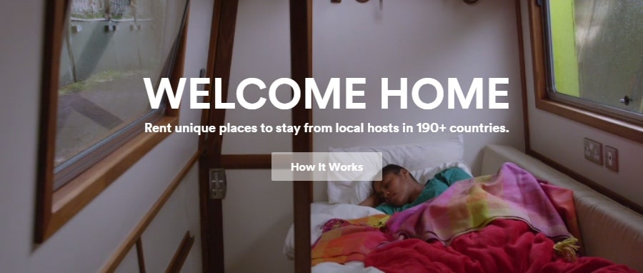 Airbnb value proposition - Welcome home